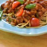 Veggie-Powered Pasta Sauce with Lentils: a Delicious Meatless Meal