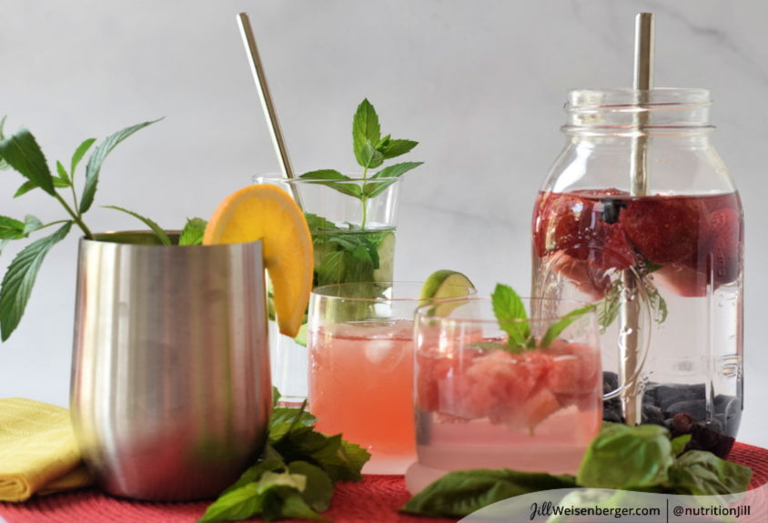 How to Flavor Water Naturally with Fruit and Herbs