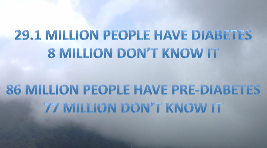 Diabetes Month statistic for risk for type 2 diabetes
