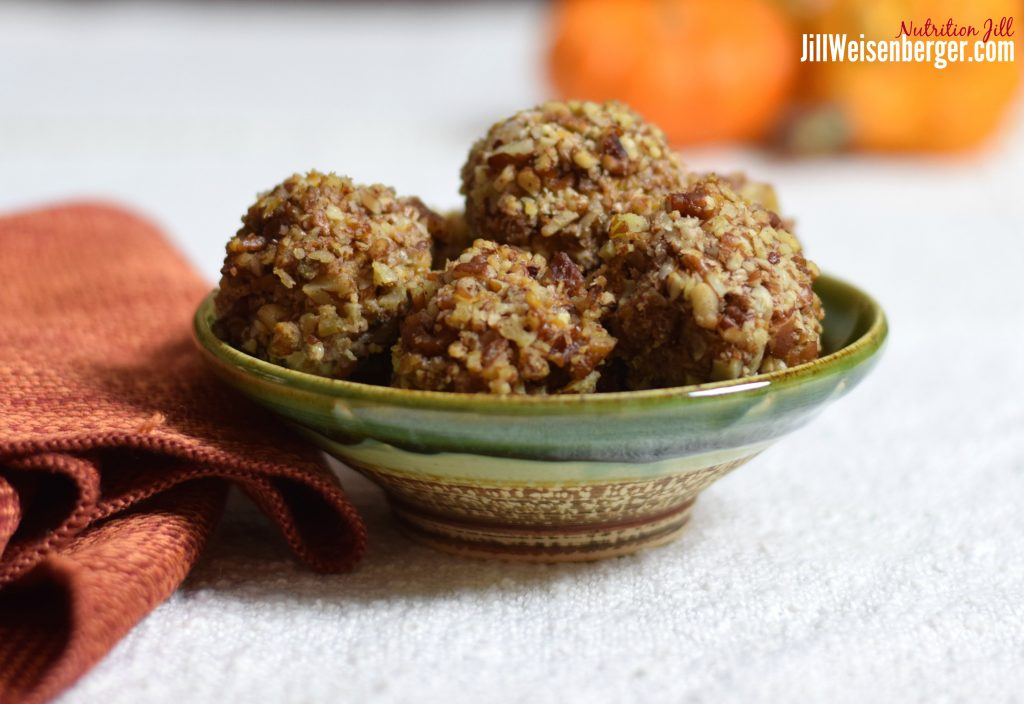Healthy Holiday Sweet Potato Balls