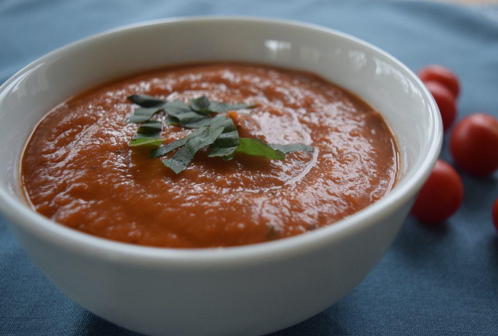 Healthy Creamy Tomato Soup recipe