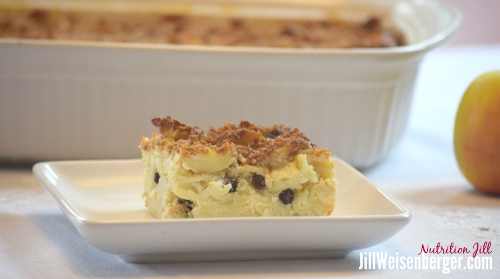 Healthy Jewish Sweet Noodle Kugel