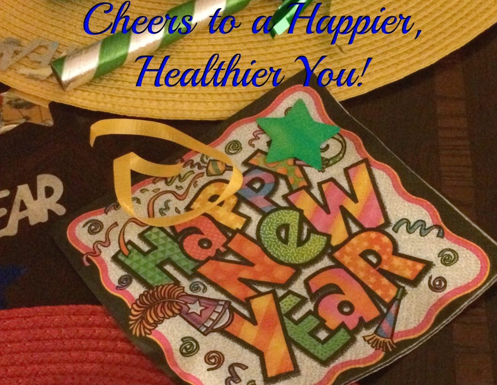 Get healthier! Cheers to a happier, healthier you