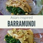 Healthy Barramundi Fish Recipe with Text