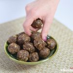 Mindfully Eat These Delicious, Nutritious Chocolate Peanut Butter Oat Balls