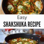 Shakshuka Recipe with Text Overlay