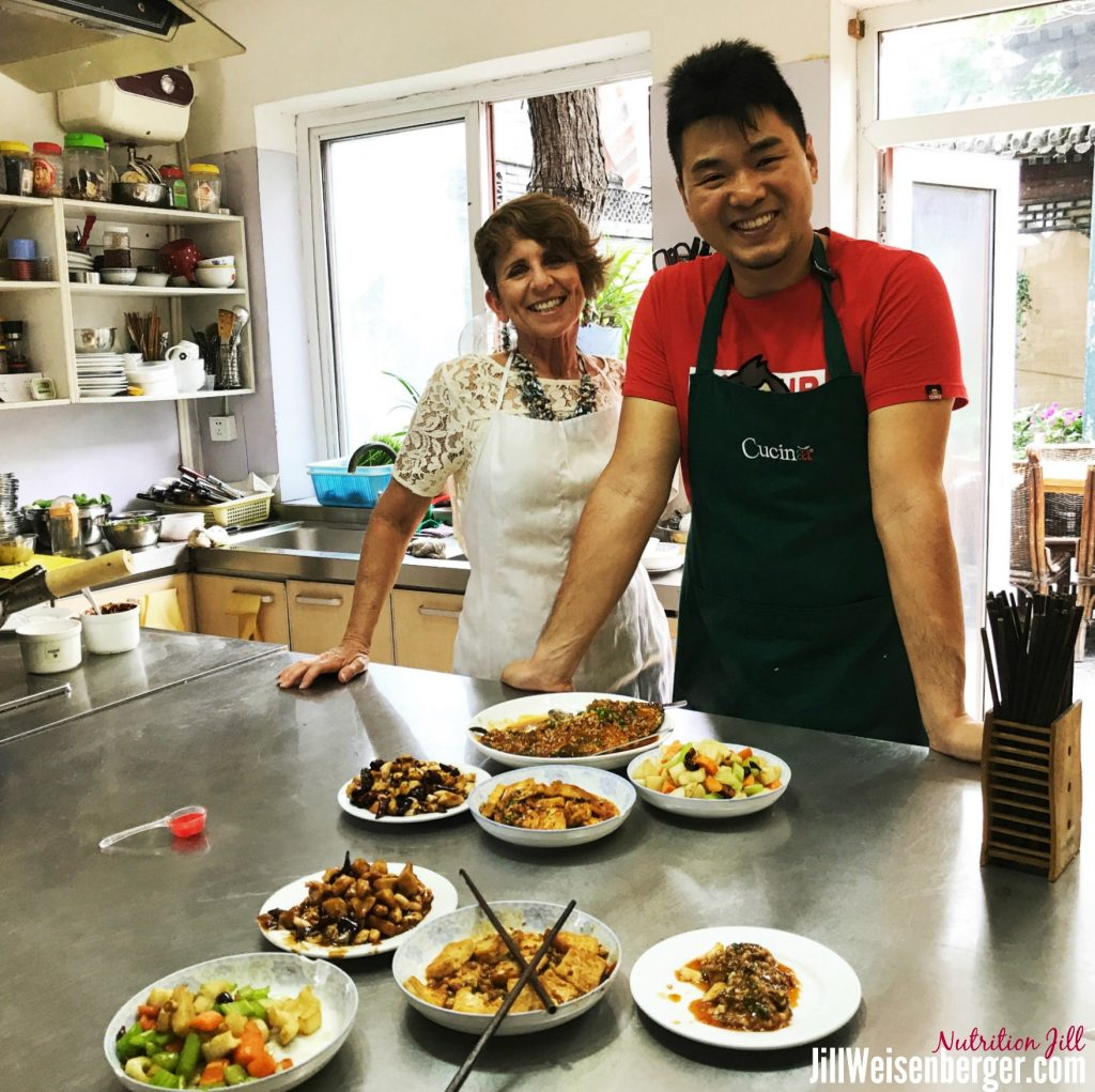 I Cooked Healthy Food in China