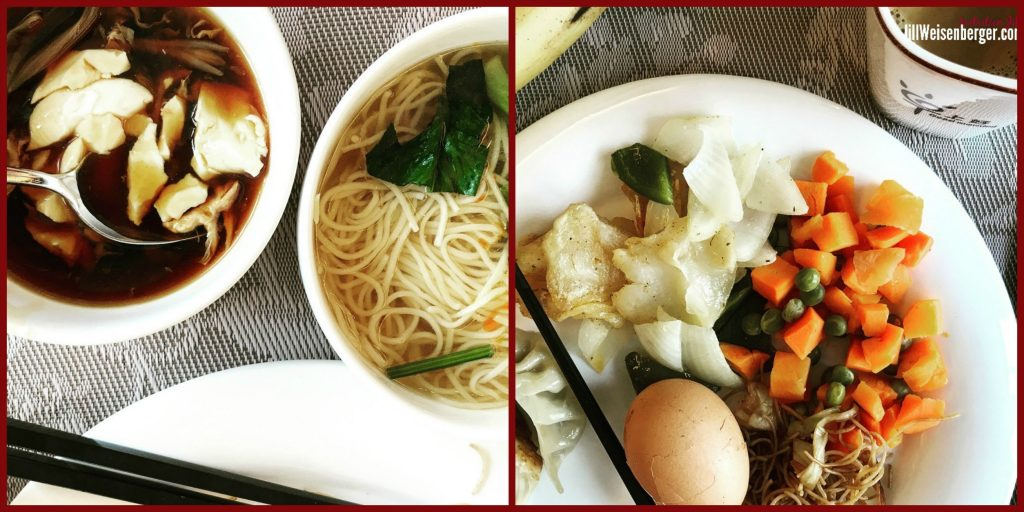 Healthy Food in China Breakfast