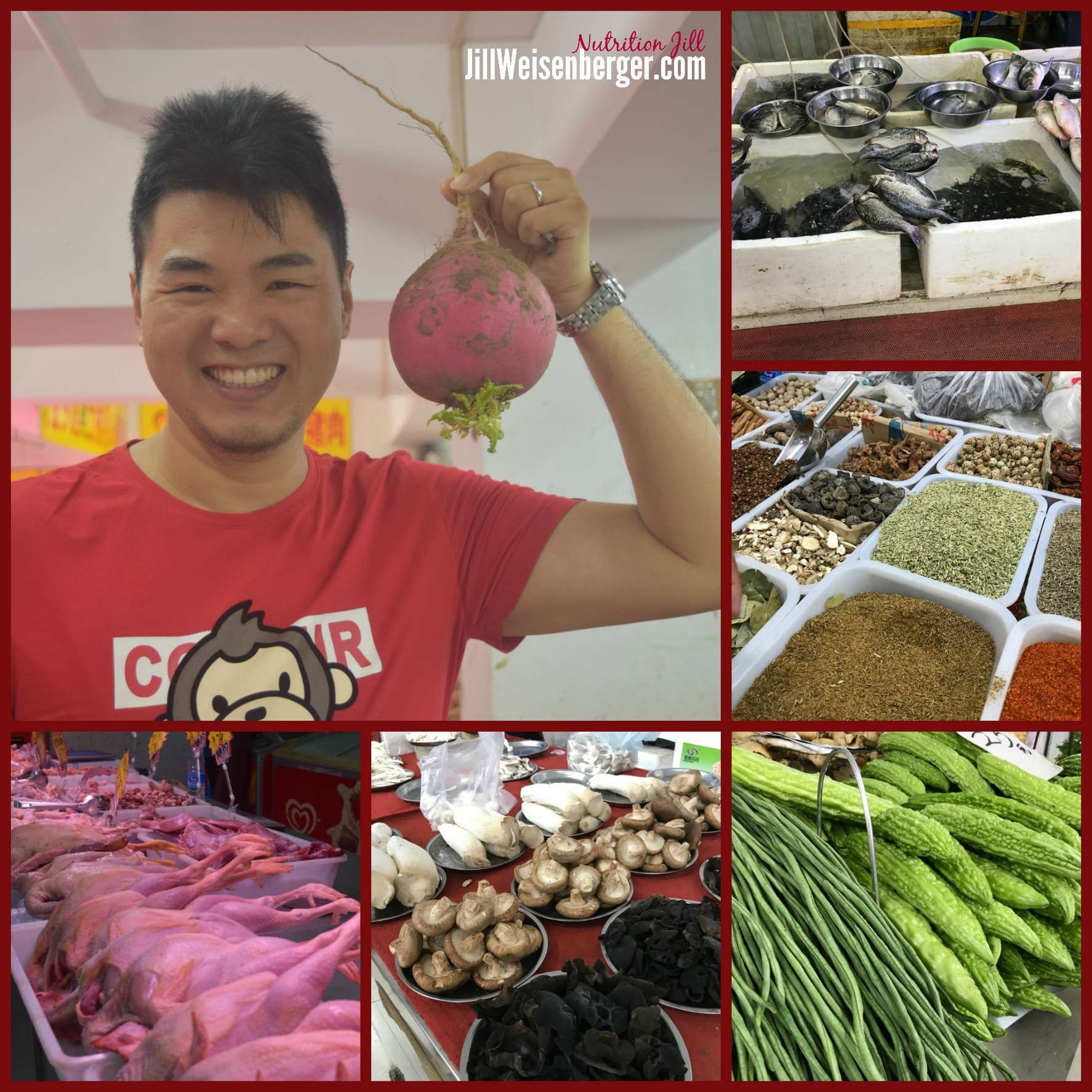 Shopping for Healthy Food in China