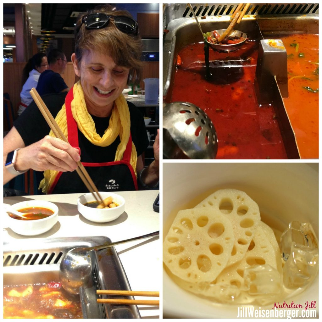 Healthy food in China
