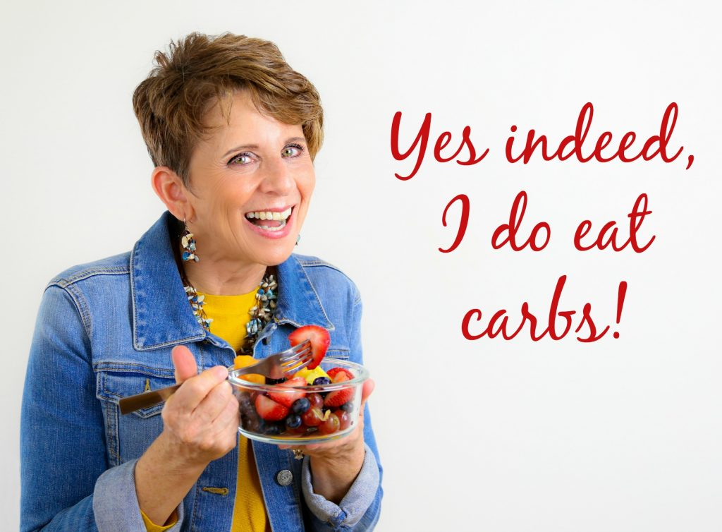Jill eats good carbs