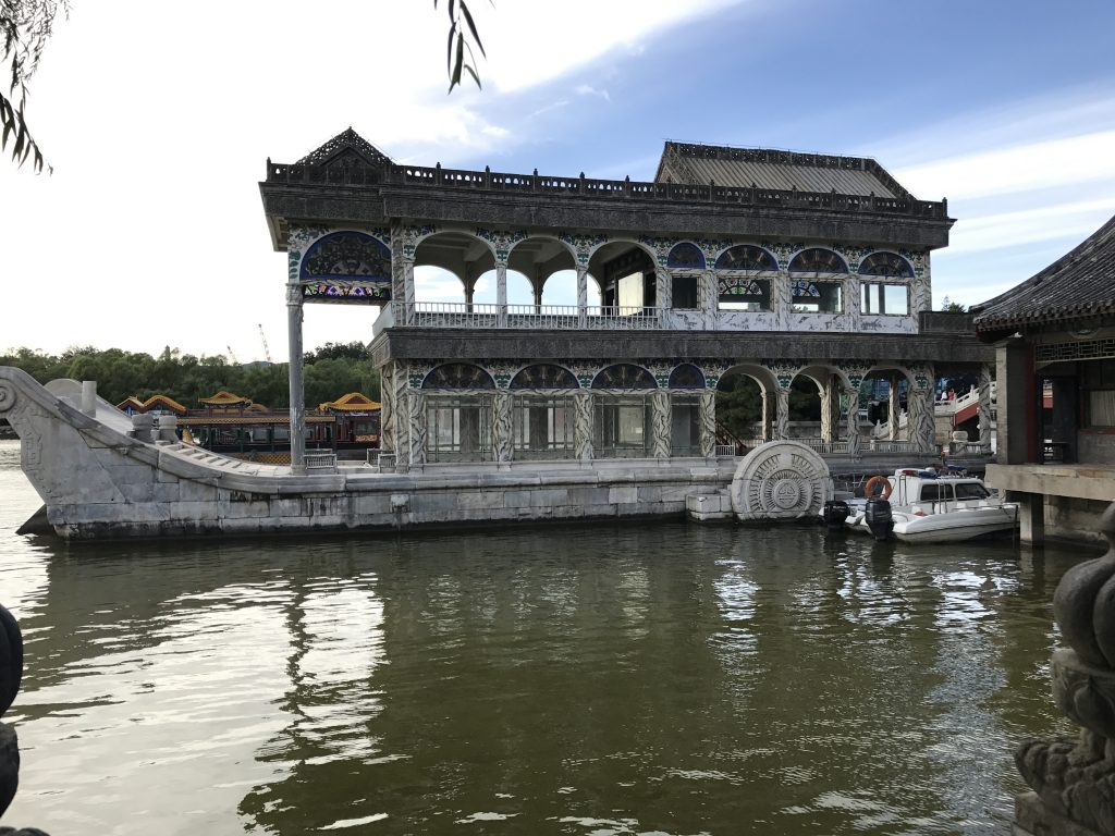 Marble boat at the Summer Palace Beijing, China