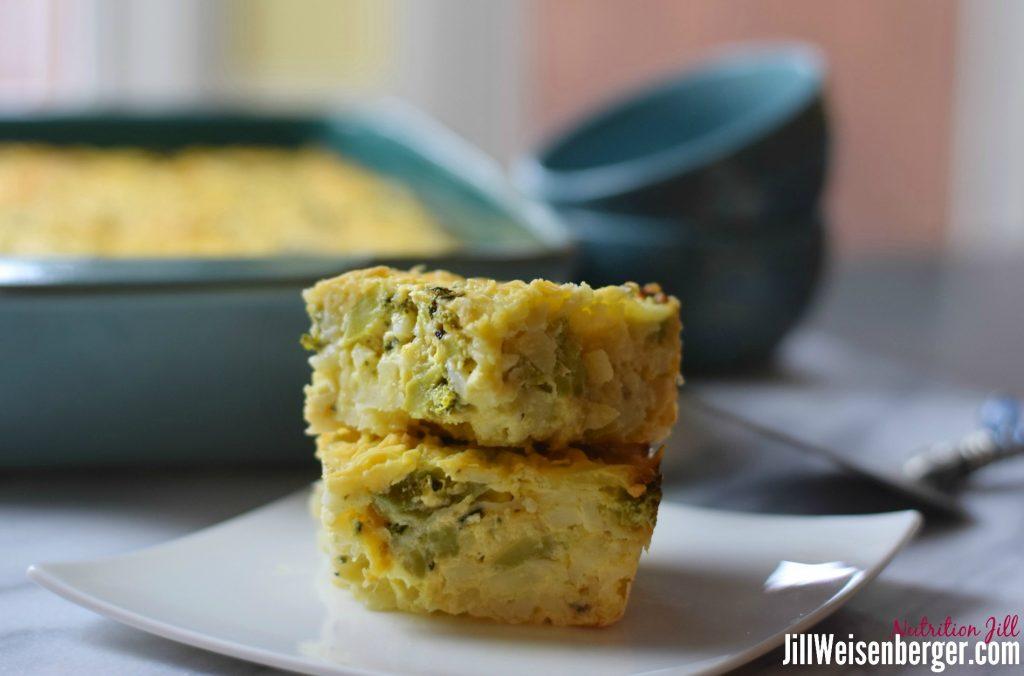 Healthy hashbrown casserole, healthy comfort food