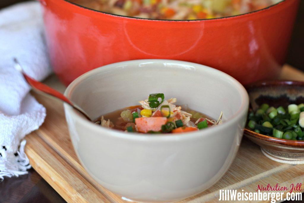 Healthy Chicken Stew Recipe in Bowl