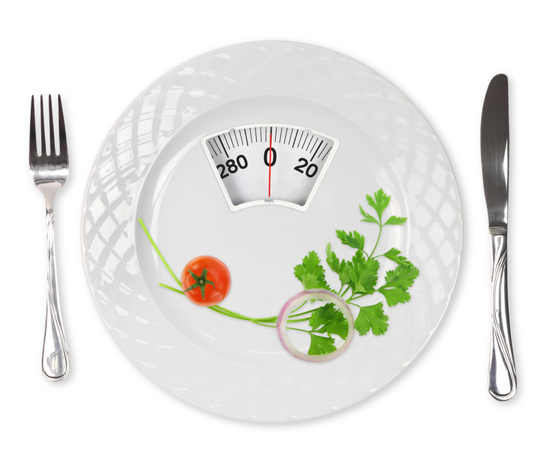 Weight Loss Diet Plate