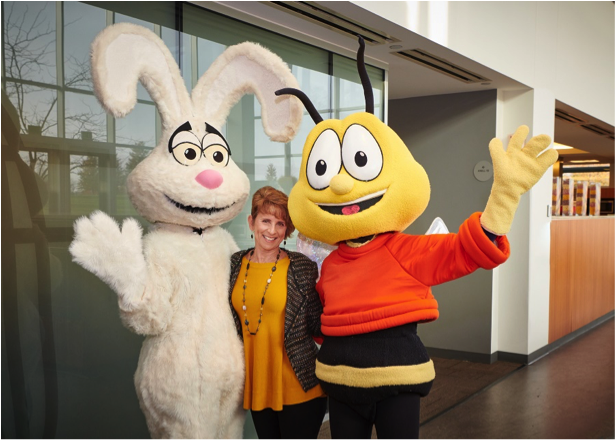 Me with General Mill's Trix and Buzz