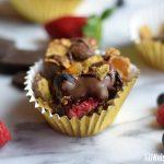 Award-Winning Healthy Dessert: Peanut Butter and Chocolate Cereal Nachos