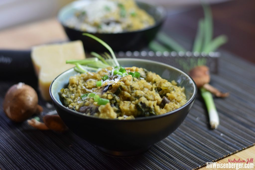Savory Oats and Lentils for your gut bacteria
