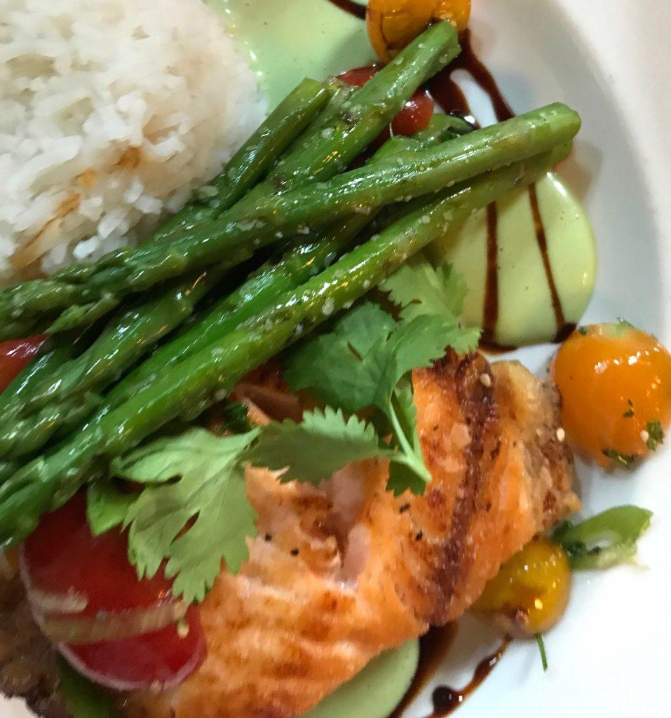 Salmon in Abingdon restaurant