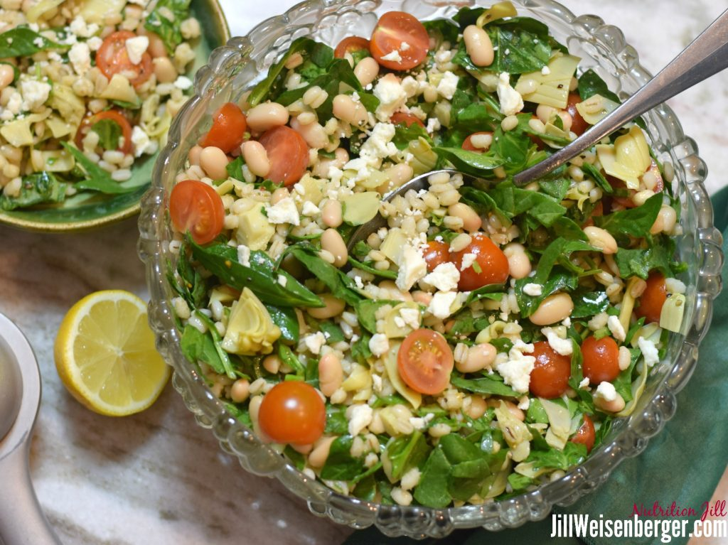 rinse beans to lower sodium in the salad
