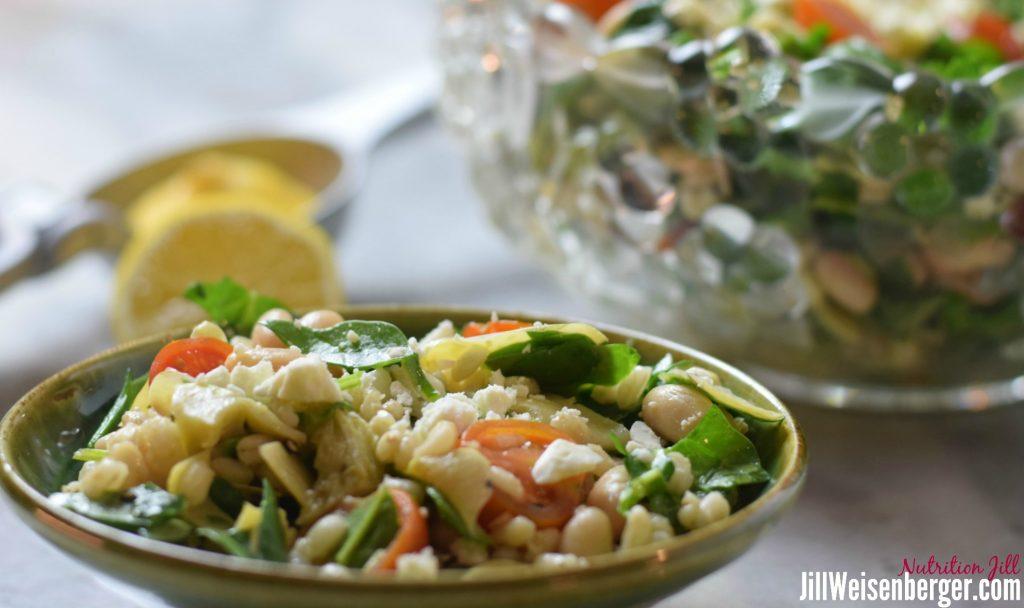 Bean and Barley Salad Recipe with Lemon