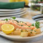 Easy Lemon Basil Sauce: Perfect for Salmon, Scallops and More