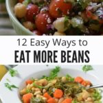 Eat More Beans Photo Collage with Text