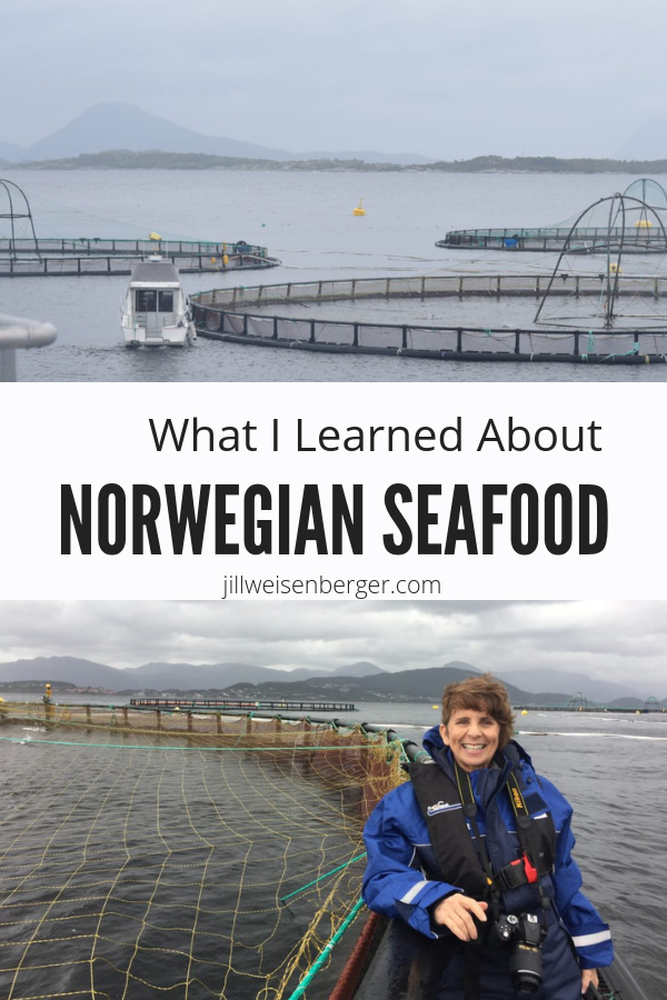 AD: What I Learned About Norwegian Seafood -- A once in a lifetime experience (sponsored) visiting a Norwegian Fish Farm & things to know about farmed salmon | @nutritionjill | #nutritionjill | #seafood | #fish | #nutrition | #NorwegianSeafood