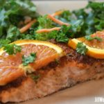 Easy Baked Salmon: Sweet, Spicy, Orange-y and Delicious