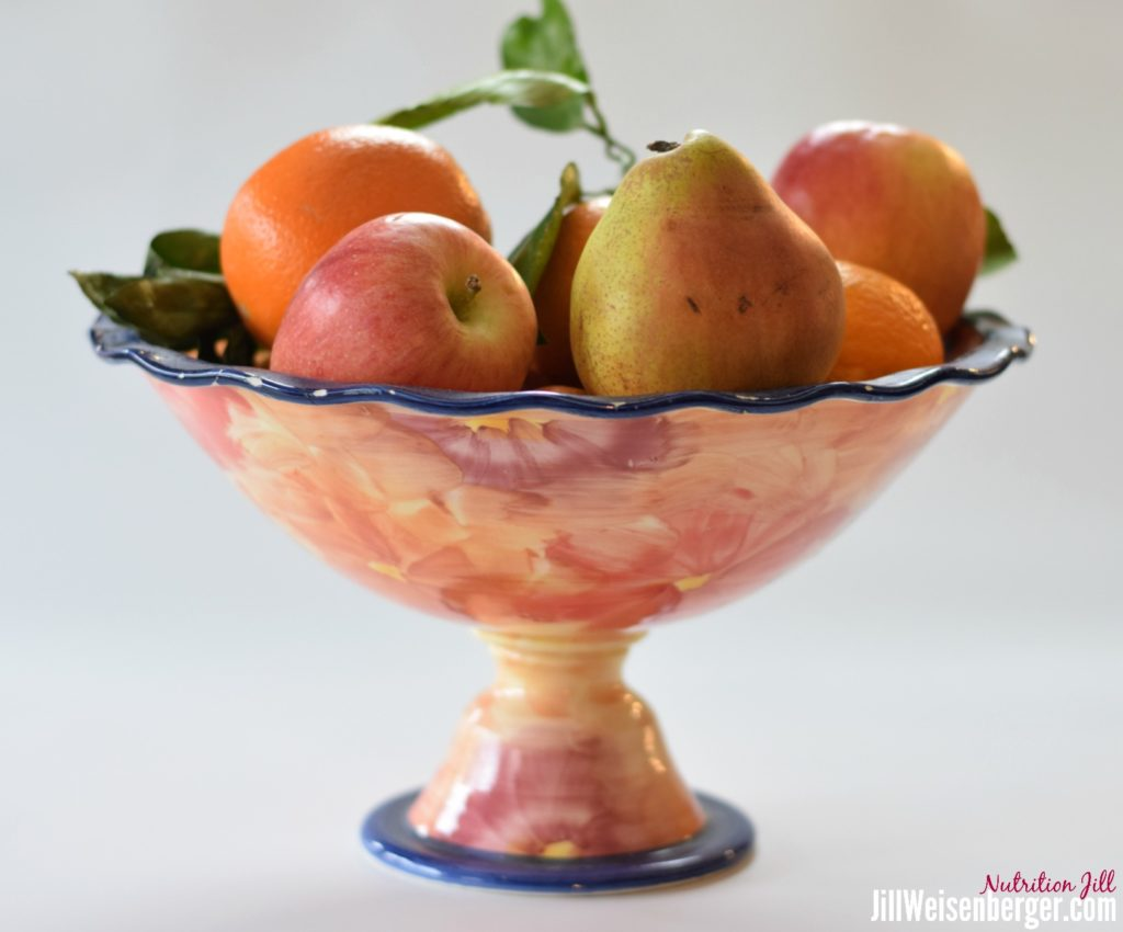 fruit bowl for healthy eating