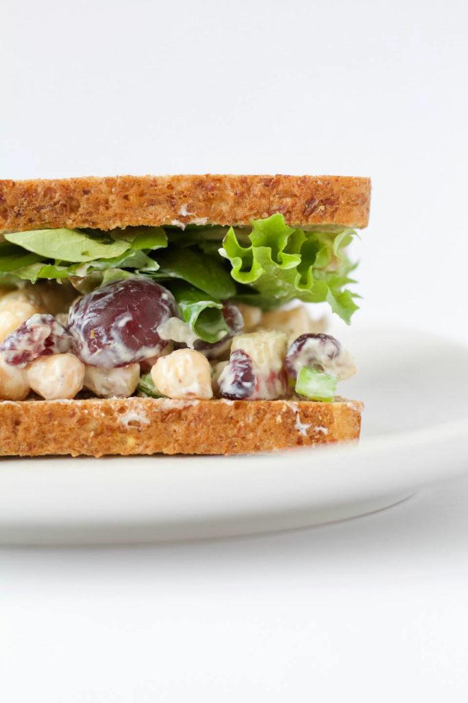 Chickpea Waldorf Salad Recipe Sandwich