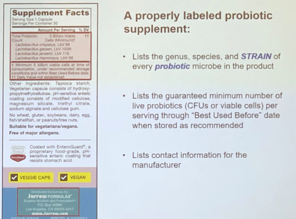 how to choose a probiotic supplement slide