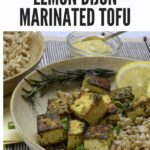 Marinated Tofu Image with Text