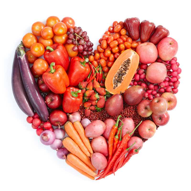 heart healthy red food for plant stanols and sterols