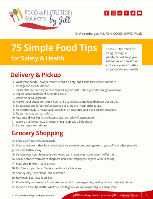 75-simple-food-tips-safety-health