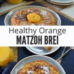Healthy Passover Brunch Recipe Collage with Text
